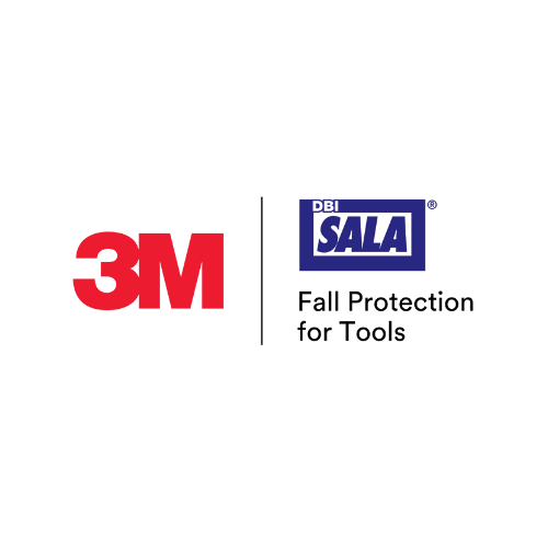 3M Logo and Fall Protection for Tools at a Safety Equipment Store