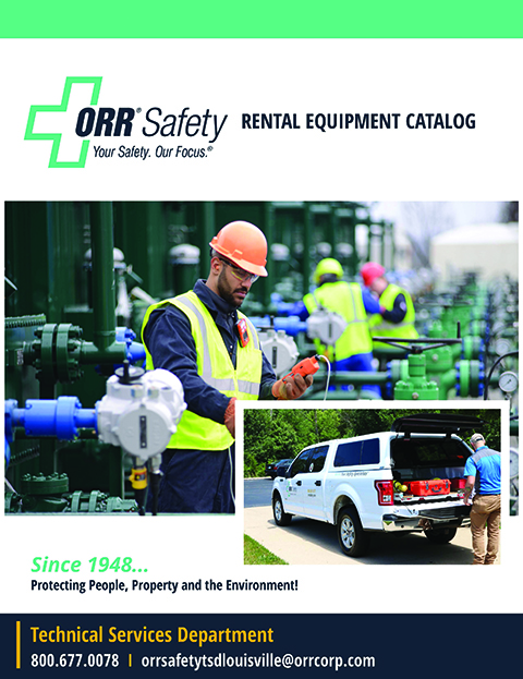 ORR Instrumentation Rental Catalog Cover