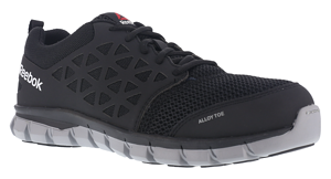 Reebok Sublite Cushion Alloy Toe Athletic Work Shoe