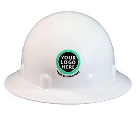 YOUR LOGO HERE HARD HAT