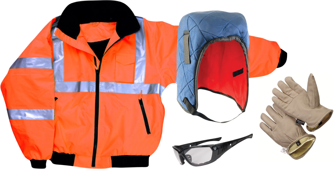 Construction Worker Cold Weather Clothing