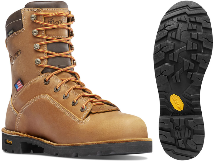 Danner Distressed Quarry Insulated Work Boots